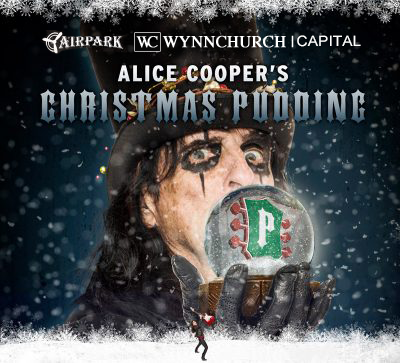 Christmas Pudding 2019 Annual Christmas Pudding Show | Alice Cooper Solid Rock