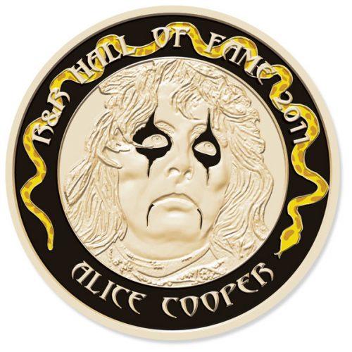 Alice Cooper Fan Medallion #1