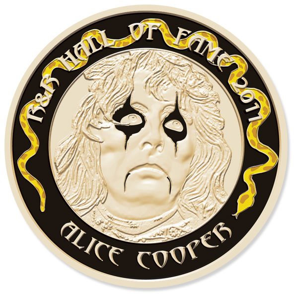 Alice Cooper Fan Medallion #1